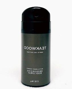 1 Bath & Body Works TEAKWOOD Men's Collection Deodorizing Sc
