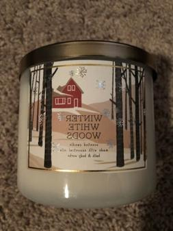 1 Piece Bath and Body Works White Barn WINTER WHITE WOODS 3-