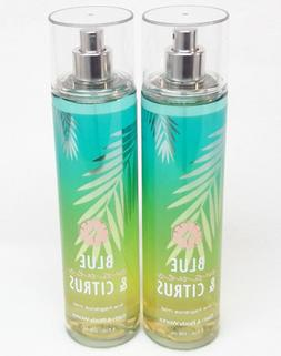 2 Bath & Body Works BLUE WAVES & CITRUS Body Mist Spray OCEA
