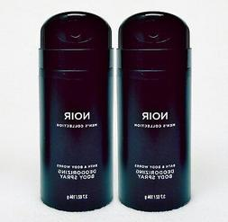 2 Bath & Body Works NOIR Men's Collection Deodorizing Scente