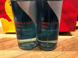 2 BATH AND BODY WORKS*WATER*FACE & BODY MIST Spray*NEW**FREE