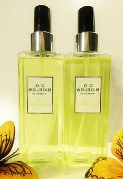 2 Bath Body Works C.O. Bigelow LIME CORIANDER Cologne Mist B