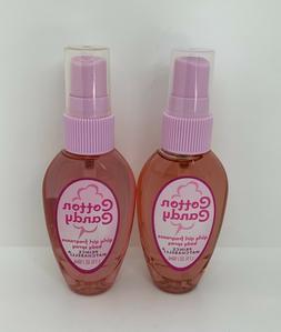 2 Prince Matchabelli Cotton Candy Girly Girl Fragrance Body