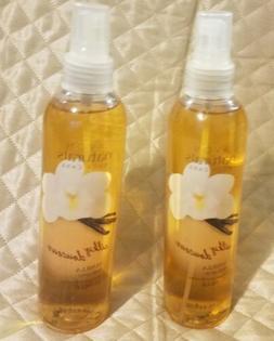 2 Avon Naturals Silky Vanilla Body Spray 8.4 fl oz NEW