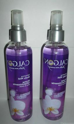 2 New Calgon Take Me Away TAHITIAN ORCHID Body Mist Spray, 8