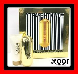 212 Vip By Carolina Herrera 2pc Set 2.7oz Eau De Parfum Spra