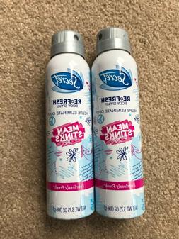 2X SECRET Re-Fresh Mean Stinks Fearlessly Fresh Body Spray 3