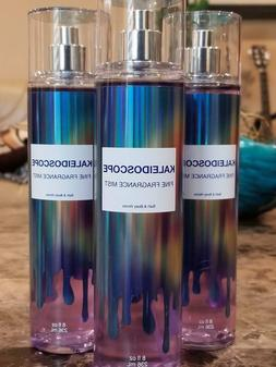 3 Bath & Body Works KALEIDOSCOPE FINE FRAGRANCE MIST SPRAY 8