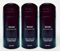 3 Bath & Body Works NOIR Men's Collection Deodorizing Scente