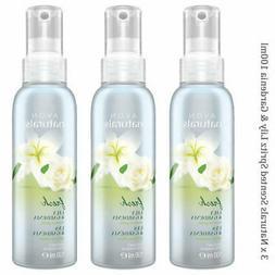 3 x Avon Naturals Scented Spritz Lily & Gardenia Room Body S