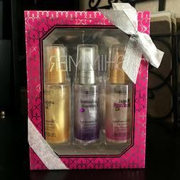 CALGON* 3pc Bottle Box Set MOISTURE MIST Shimmering Body Spr