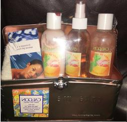 5-PC SET CALGON FRESH SORBET BODY LOTION SPRAY MIST BODY WAS