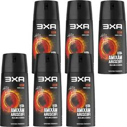 6 Pack Axe Musk Deodorant Body Spray for Men, 150ml