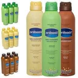 6pk Vaseline 6.4oz Body Spray Lotion Moisturizer For Dry Ski