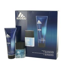 ADIDAS MOVES HIM Men Cologne Coty Gift Set 0.5 oz Spray 2.5