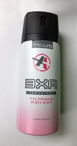 "AXE ""Anarchy For Her"" Deodorant Women Body Spray 150mL Ea."