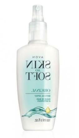 Avon Skin So Soft Original Bath Oil Spray with Pump, 5 Fl Oz