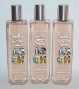 Bath Body Works 3 Island White Sand Fine Fragrance Mist Body
