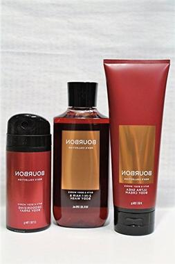 Bath & Body Works - Signature Collection – Bourbon - 2-in-