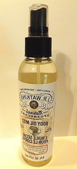 J.r. Watkins Body Oil Mist, Coconut Milk/honey, 6 Ounce