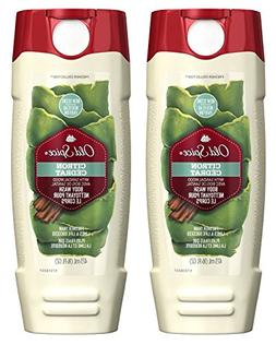 Old Spice Fresher Collection Men's Body Wash, Citron Scent,