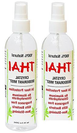 Thai Deodorant Stone Crystal Mist Natural Deodorant Spray 8