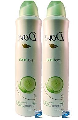Dove body spray Anti-Perspirant/Anit-Transpirant, Pack of 2X
