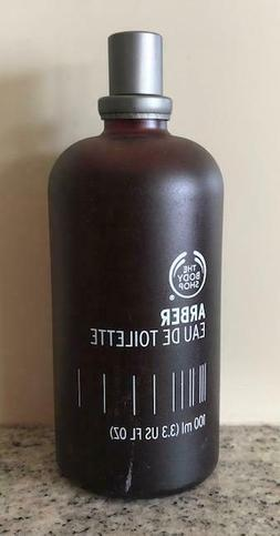 The Body Shop ARBER Eau De Toilette Cologne spray 3.3 Oz. Ne