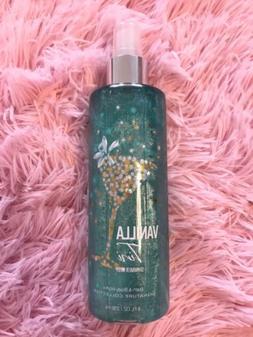 Bath & and Body Works VANILLA TINI Shimmer Fragrance Mist Sp