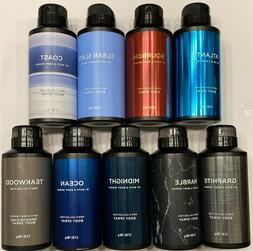Bath & Body Works 3.7 OZ/104 g Men's Body Spray - You Choose