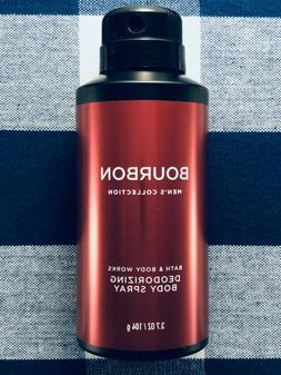 Bath & Body Works BOURBON Mens Collection Deodorizing Body S