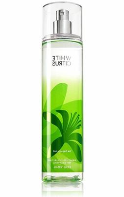 Bath and Body Works Fine Fragrance Mist, White Citrus, 8.0 F