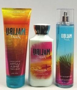 BATH AND BODY WORKS MALIBU HEAT FRAGRANCE MIST SPRAY LOTION