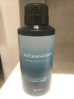 BATH AND BODY WORKS MEN'S COLLECTION FRESHWATER DEODORIZING