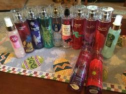 BATH AND BODY WORKS MIST SPRAY LOT 12 NEW RETIRED SCENTS VEL