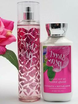 Bath and Body works SWEET PEA Body LOTION & Fragrance MIST s