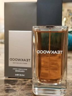 BATH & BODY WORKS TEAKWOOD MEN'S COLLECTION COLOGNE BODY SPR