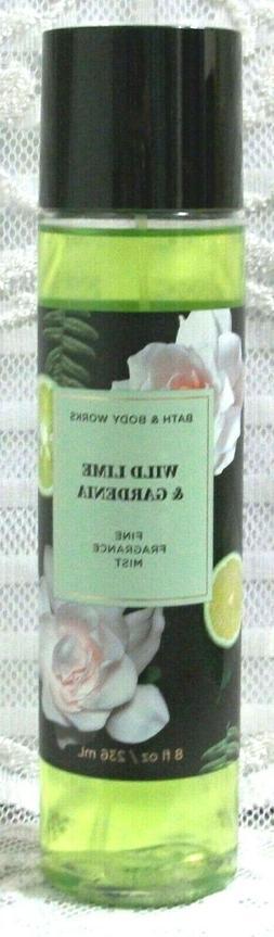 Bath & Body Works ~ WILD LIME & GARDENIA ~ Fine Fragrance Mi