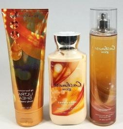 Bath Body Works CASHMERE GLOW Mist Spray Body Lotion Cream 3