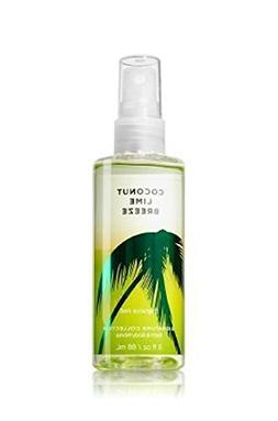 Bath Body Works Coconut Lime Breeze 3 Ounce Travel Size Frag