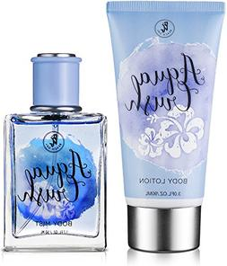 Beach Gal Aqua Crush Body Mist & Lotion Perfume Gift Set for