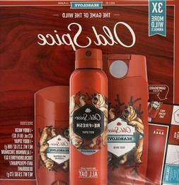 Old Spice BEARGLOVE Gift Set Antiperspirant Deodorant + Body