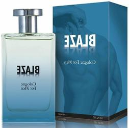Blaze Cologne Spray for Men, 3.3 Ounces 100 Ml - Scent Simil
