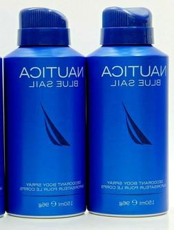Nautica Blue Sail Deodorizing Body Spray by Nautica for Men