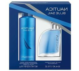 Nautica Blue Sail Eau De Toilette Spray & Deodorizing Body S
