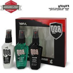 Bod Man Black Cologne Gift Set for Men by Parfums De Coeur