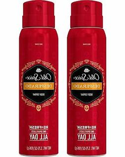 Old Spice Body Spray, Desperado 3.75 oz