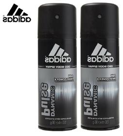 ADIDAS Body Spray For Men * Dynamic Pulse * 150 ml x 2 Pcs