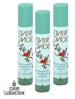 body spray package of 3