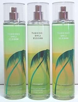 Coconut Lime Breeze Fine Fragrance Mist 8 Oz Each